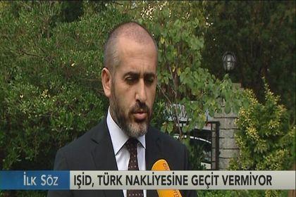 IŞİD, Türk nakliyecisine geçit vermiyor