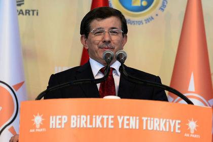 AK Parti'nin yeni Genel Başkanı Davutoğlu - AK Parti Genel Kurulu'nda geçerli oyların tamamını alan Ahmet Davutoğlu yeni Genel Başkan seçildi