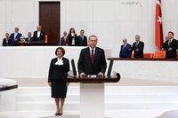 12. Cumhurbaşkanı Erdoğan görevine başladı