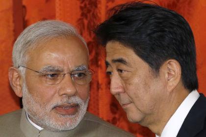 Japonya, Hindistan'a 34 milyar dolarlık yatırım yapacak - Hindistan Başbakanı Narendra Modi, Japonya ziyareti çerçevesinde bugün mevkidaşı Shinzo Abe ile bir araya geldi, Japonya'nın Hindistan'da farklı alanlara toplam 34 milyar dolarlık yatırım yapacağı belirtildi
