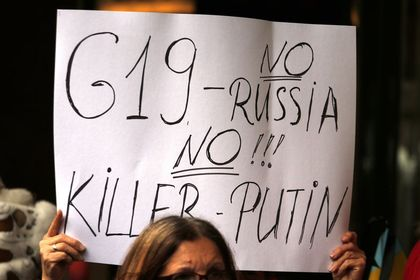 Avustralya, Putin'i G20 Zirvesi'nde istemiyor - Avustralya Dışişleri Bakanı Bishop ve Savunma Bakanı Johnston, Galler'deki NATO Zirvesi'nde Putin'in G20'ye katılmaması için lobi faaliyeti yürütecek