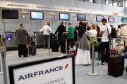 Air France çalışanları greve gitti