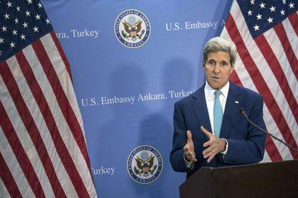 Kerry: Türkiye müttefikimizdir - ABD Dışişleri Bakanı Kerry, Ankara'nın, IŞİD'le mücadelede kesinlikle etkili olacağını ve bu sorunun üstesinden gelme çabalarına derinden katılacağını taahhüt ettiğini vurguladı