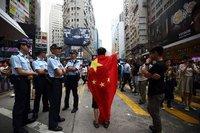 Çin medyası: Protestocular kuklaya dönüşüyor