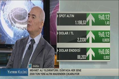 Mehmet Ali Yıldırımtürk'ten altın yorumu