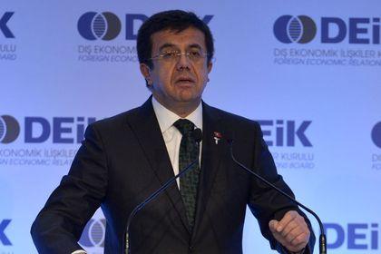 """Zeybekci: Yeni ekonomik düzende belirleyici olmayı hedefliyoruz - Cari açıkta ise beklentinin çok üzerinde iyileşme olduğunu anlatan Zeybekci, """"Türkiye 10 aylık dönemde cari açığını geçen yıla göre yüzde 37 daraltmayı başardı"""