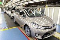 Toyota'nın satışları yüzde 2,5 arttı