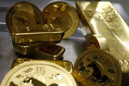 """Altın """"güçlü"""" dolar ile düştü - Altın, Fed Başkanı Yellen'ın faizlerin bu yıl artırılmasını beklediğini söylemesinin doları desteklemesi sonucu değer kaybetti (16:10'da güncellendi)"""