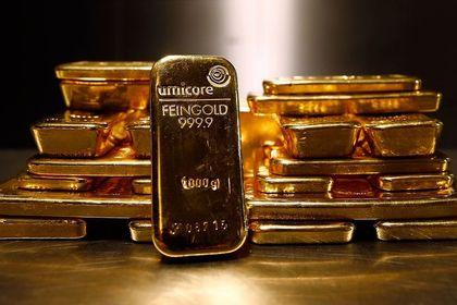 """Altın """"ABD"""" verileri ile yükseldi - Altın, karışık gelen ABD verilerinin faizlerin artırılacağı beklentilerini zayıflatmasının ardından yükseldi (10:15'te güncellendi)"""