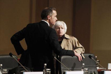 """Yellen ile Carney """"çok sık"""" görüşüyor - Fed Başkanı Yellen ile BOE Başkanı Carney arasındaki """"özel ilişki"""" faiz oranlarına yansımıyor"""