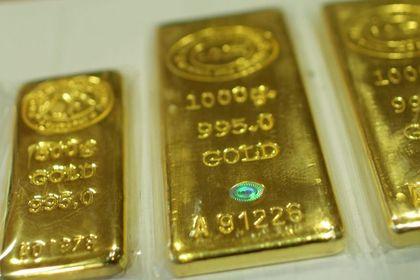"""Altın """"veri"""" sonrası haftalık kayba yöneldi - Altın, ABD'de büyüme verisinin beklenenden güçlü çıkmasının ardından son bir ayın en büyük haftalık kaybına yöneldi"""
