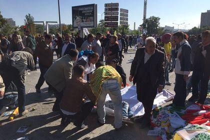 Ankara tren garı yakınında şiddetli patlama: 86 ölü 186 yaralı - Ankara Tren Garı önünde meydana gelen patlamada, 86 kişinin hayatını kaybettiği, 186 kişinin ise hastanelerde tedavi gördüğü bildirildi (17:00'de güncellendi)