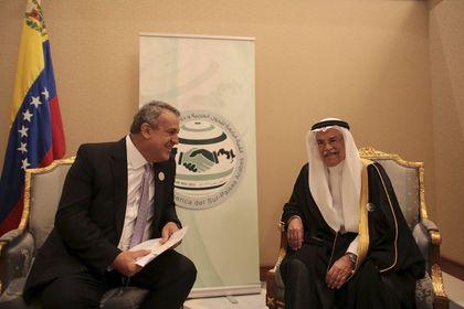 """S. Arabistan: Venezuela Petrol Bakanı ile başarılı bir görüşme yaptık - Suudi Arabistan Petrol Bakanı Naimi, Venezuelalı mevkidaşı işe petrol piyasasına itikrar getirmenin yolları hakkında """"başarılı"""" bir görüşme yaptıklarını söyledi"""