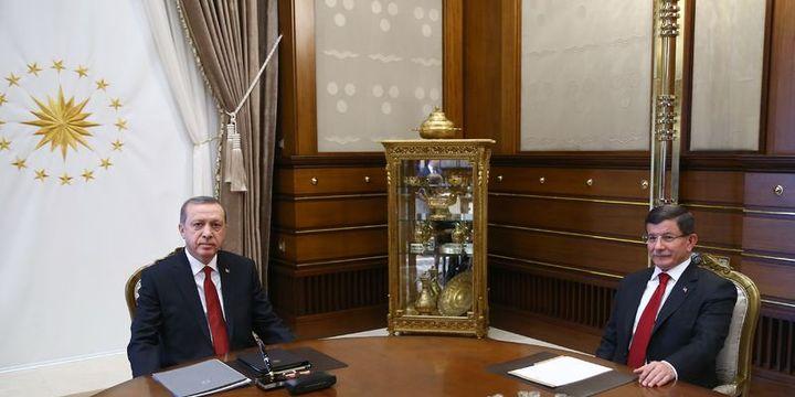 Erdoğan, Davutoğlu