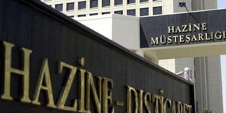 Hazine piyasaya 1,8 milyar lira borçlandı