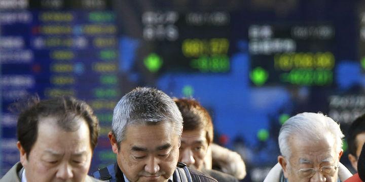 """Asya hisseleri """"Japonya"""" öncülüğünde düştü"""