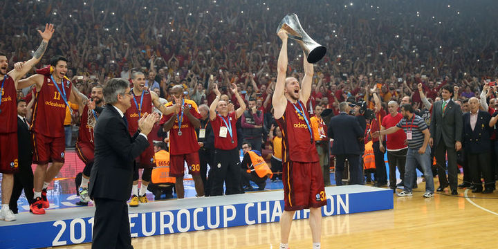 Galatasaray Odeabank ULEB Avrupa Kupası şampiyonu