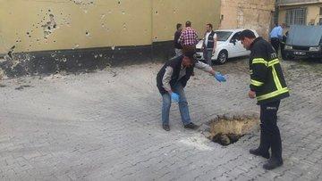Kilis'a atılan 2 roket mermisi sonucu 2 kişi yaralandı