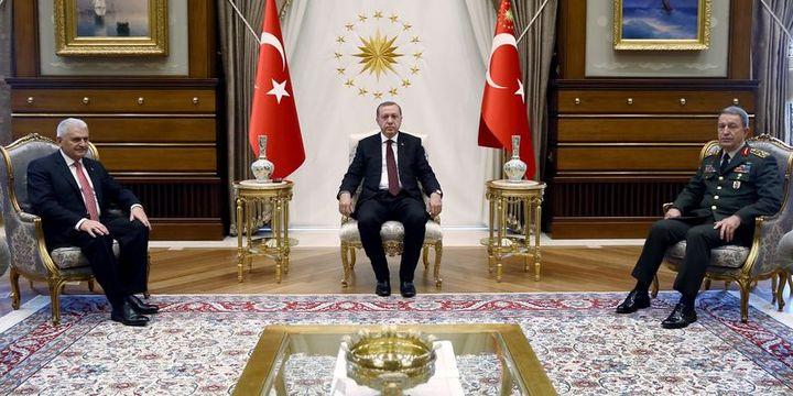 Erdoğan başkanlığındaki MGK toplantısı sona erdi