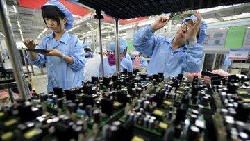 """Çin'de """"imalat"""" göstergesi istikrarı işaret etti"""
