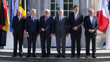 AB'nin kurucu ülkelerinin dışişleri bakanları toplandı