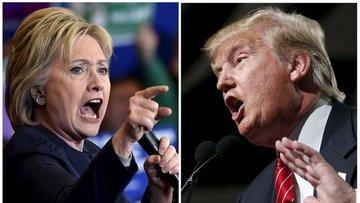 Clinton en güncel iki ankette de Trump'ı geride bıraktı