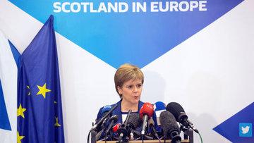 "İskoçya Brüksel'de ""Brexit""e itiraz etti"
