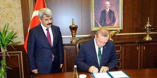 Cumhurbaşkanı Erdoğan Yargıtay ve Danıştay Kanunu'nu onayladı