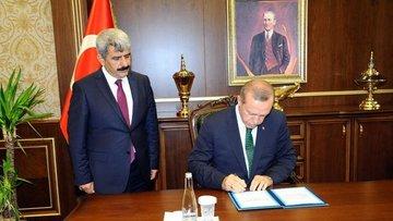 Cumhurbaşkanı Erdoğan Yargıtay ve Danıştay Kanunu'nu onay...