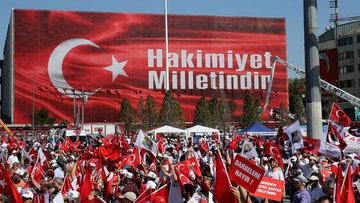 CHP Lideri Taksim Meydanı'nda konuştu
