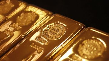 """Altın """"Fed"""" beklentileri ve güçlü hisse senetleri ile düştü"""