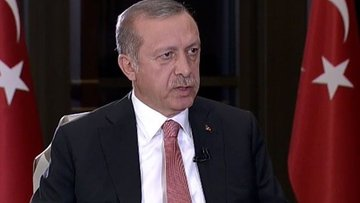 Cumhurbaşkanı Erdoğan, Başbakan ve Genelkurmay Başkanı il...