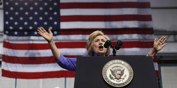 ABD ekonomist anketinde Clinton önde götürüyor