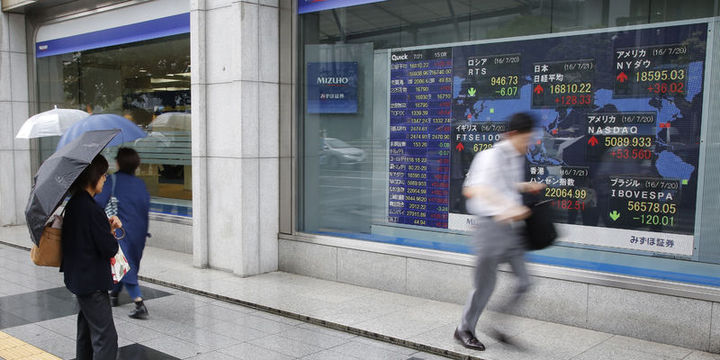 """Asya hisseleri """"Fed"""" beklentileri ile yükseldi"""