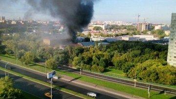 Moskova'da depo yangını: 17 ölü