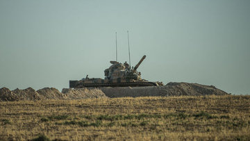 Cerablus'ta TSK'ya ait iki tanka roketli saldırı: 1 asker...