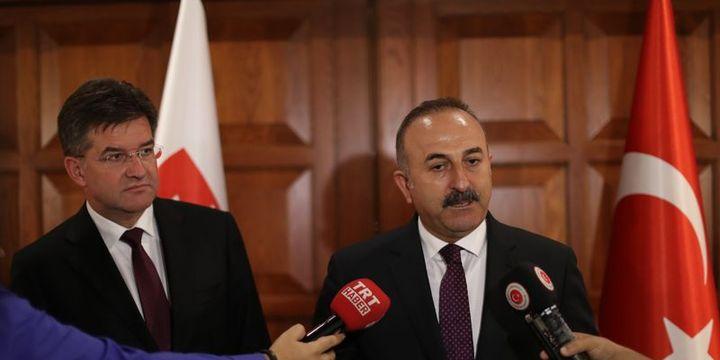 Çavuşoğlu: YPG Fırat