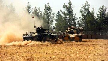 Kilis'e roketlerin atıldığı Suriye'deki hedefler imha edildi