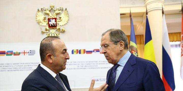 Dışişleri Bakanı Çavuşoğlu, Rus mevkidaşıyla görüştü