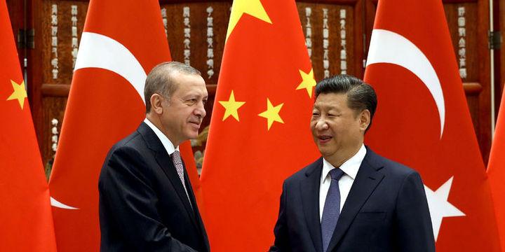 Erdoğan Şi Cinping ile görüştü