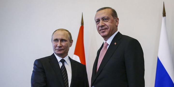Cumhurbaşkanı Erdoğan ve Putin görüşmesi bitti