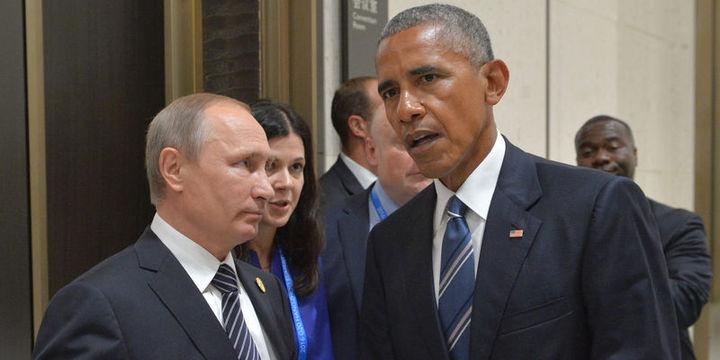 Putin ile görüşme sonrası Obama