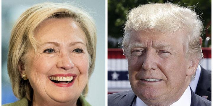 Trump son ankete göre Clinton