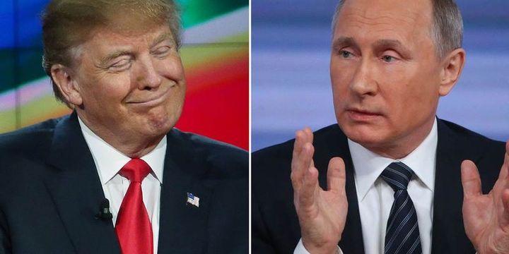 Trump: Putin, Obama
