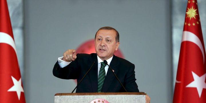 Erdoğan: Bilgimiz dışında nerede Türk,Türkiye ünvanı varsa yasaklamalıyız