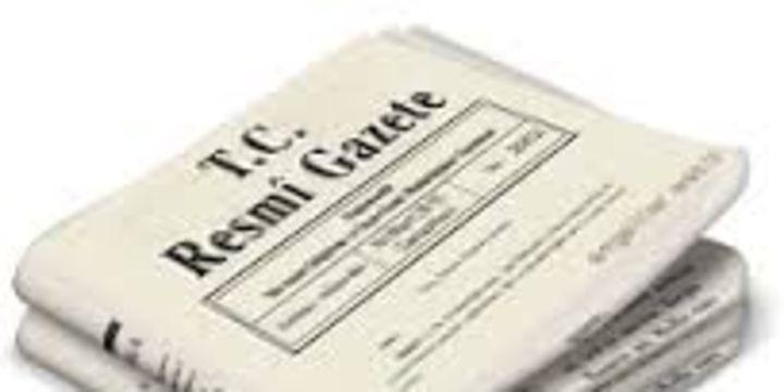İsrail ile tazminat anlaşması Resmi Gazete