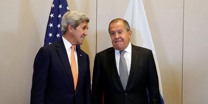 Kerry ile Lavrov Suriye