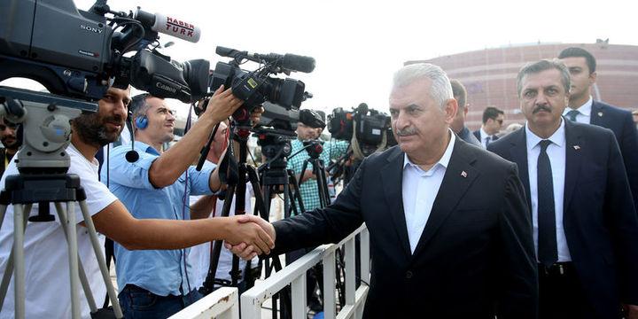 Başbakan Binali Yıldırım bayram namazı sonrası açıklamalarda bulundu