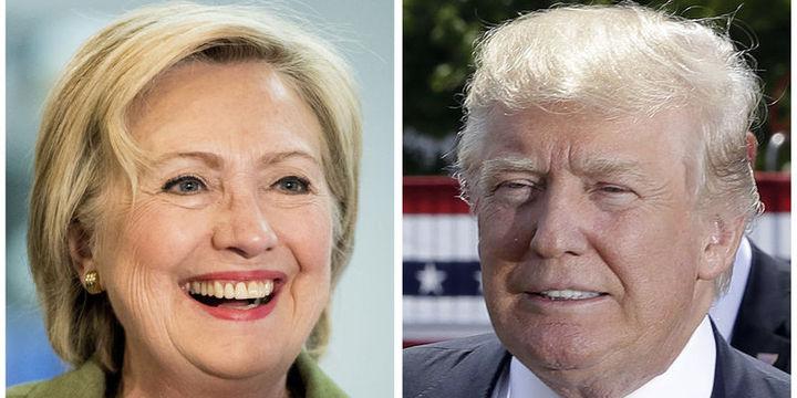 Clinton son ankete göre Trump
