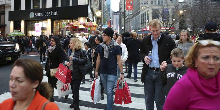 ABD'de gelirler 8 yıldır ilk kez yükseldi